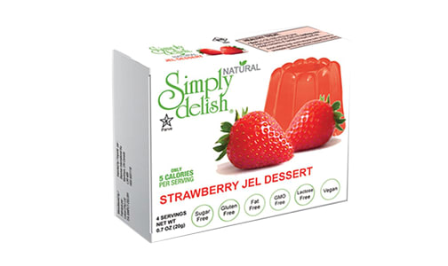 Strawberry Jel Dessert Mix- Code#: DE1376