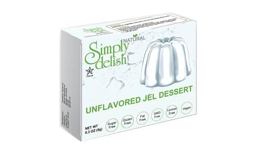 Unflavoured Jel Dessert Mix- Code#: DE1378