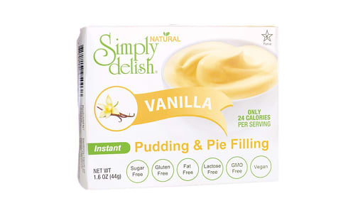 Vanilla Pudding Mix- Code#: DE1379