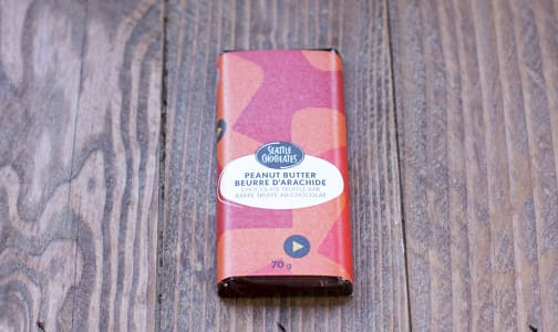Peanut Butter Dark Chocolate Truffle Bar- Code#: DE1451