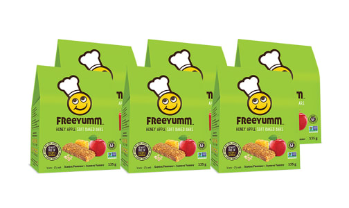 Honey Apple Oat Bars - Free of the top 9 allergens! - CASE- Code#: DE1562-CS
