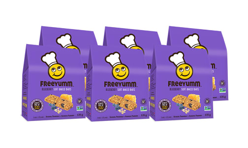 Blueberry Oat Bars - Free of the top 9 allergens! - CASE- Code#: DE1563-CS