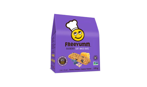 Blueberry Oat Bars - Free of the top 9 allergens!- Code#: DE1563