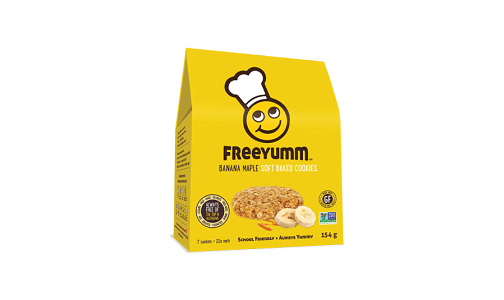 Banana Maple Cookies - Free of the top 9 allergens!- Code#: DE1567