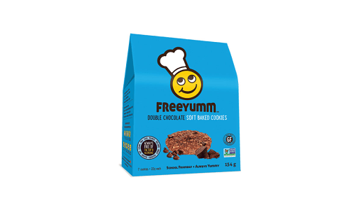 Double Chocolate Cookies - Free of the top 9 allergens!- Code#: DE1568