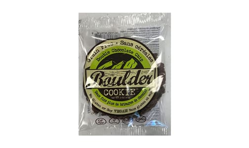 Organic Double Chocolate Chip Cookie- Code#: DE1708