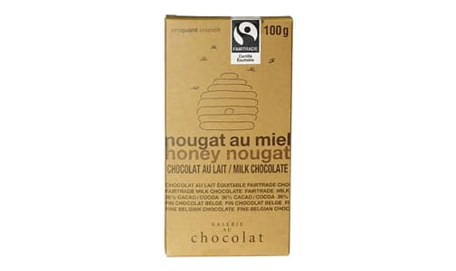Organic Honey Nougat Milk Bar- Code#: DE1987