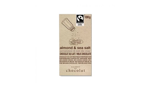 Organic Almond & Sea Salt Milk Bar- Code#: DE1992