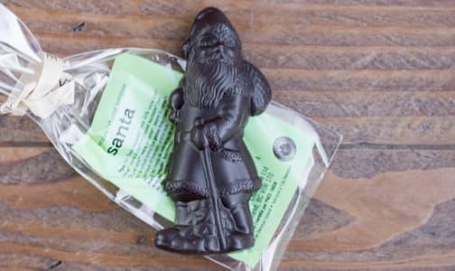 Organic Dark Chocolate Santa- Code#: DE256