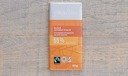Organic Salted Caramel Crunch Bar- Code#: DE273