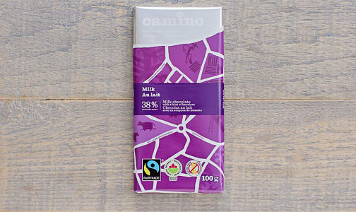 Organic Milk Chocolate Bar- Code#: DE274
