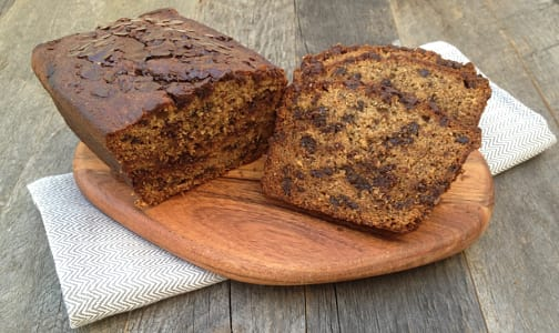 Organic Banana Chocolate Chip Bread- Code#: DE3102