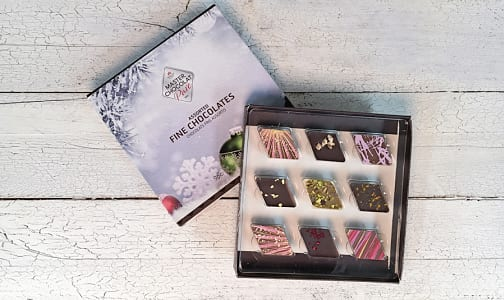 9 pc Assorted Classic Chocolate Collection Gift Box- Code#: DE3118