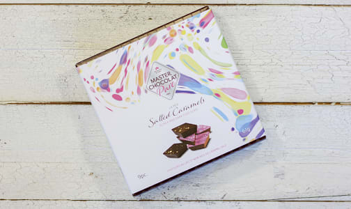 Salted Chocolate Caramels Gift Box- Code#: DE3132