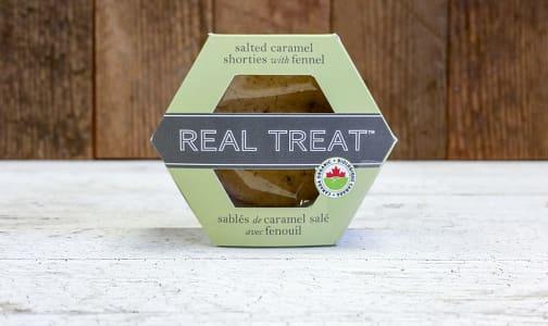 Organic Organic Salted Caramel Shorties with Fennel- Code#: DE3177