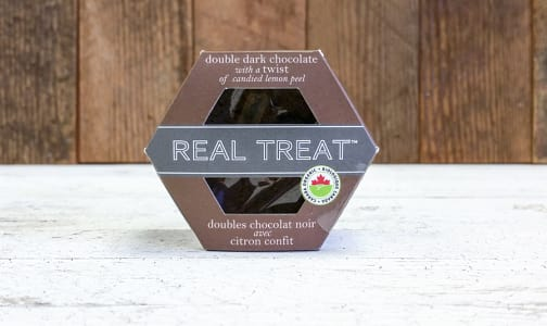 Organic Double Dark Chocolate with a Twist- Code#: DE3179