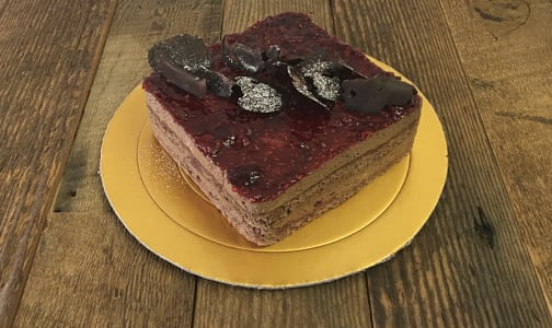 Raspberry Chocolate Mousse Cake- Code#: DE3185