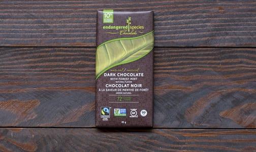 Rainforest Bar, Dark Chocolate with Mint- Code#: DE832