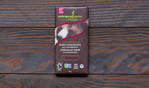 Grizzly Bar - Dark Chocolate with Raspberries- Code#: DE833