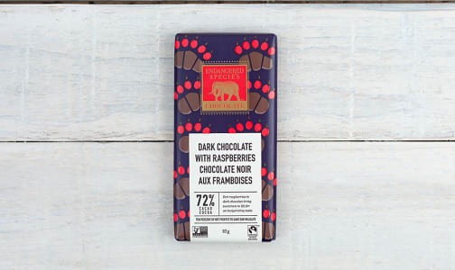 Grizzly Bar - Tart Raspberries & Dark Chocolate- Code#: DE833