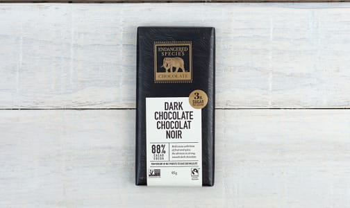 Panther Bar - 88% Strong & Velvety Dark Chocolate- Code#: DE835