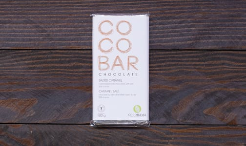 COCONAMA Salted Caramel Milk Chocolate Bar- Code#: DE943
