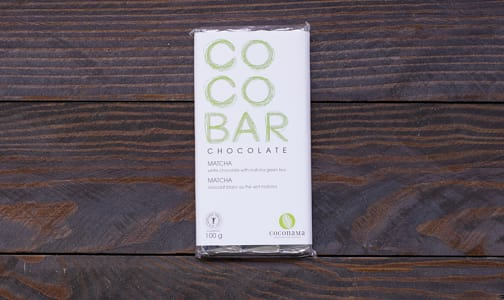 COCONAMA Matcha Chocolate Bar- Code#: DE944