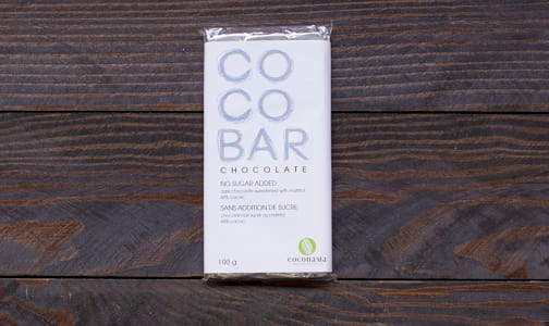COCONAMA No Sugar Added Dark Chocolate Bar- Code#: DE947
