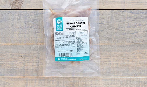 Vegan Ginger Chick'n (Frozen)- Code#: DN0042