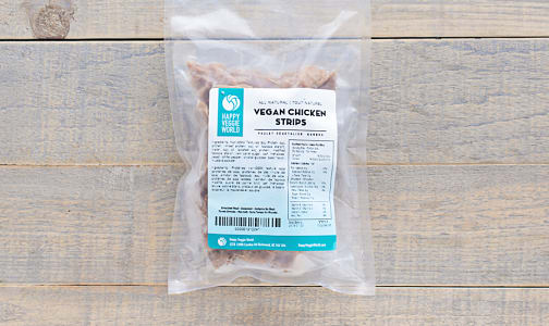 Vegan Chick'n Strips (Frozen)- Code#: DN0045