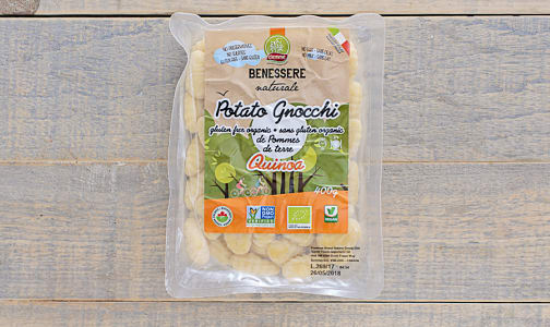 Organic Potato Gnocchi with Quinoa- Code#: DN0048
