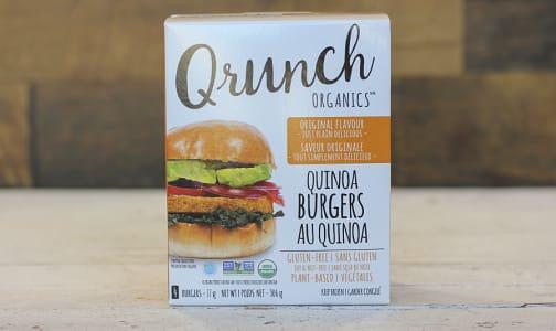 Organic Quinoa Burgers Original- Code#: DN0050