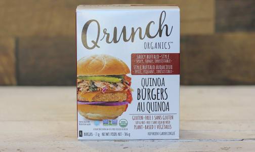 Organic Quinoa Bugers Saucy Buffalo- Code#: DN0054