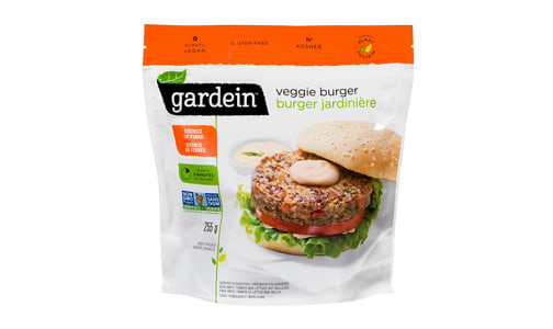 Veggie Burger (Frozen)- Code#: DN0062