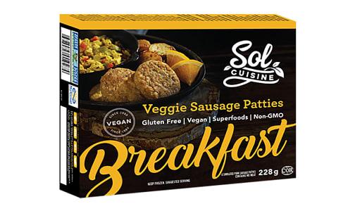 Veggie Breakfast Sausage (Frozen)- Code#: DN0074