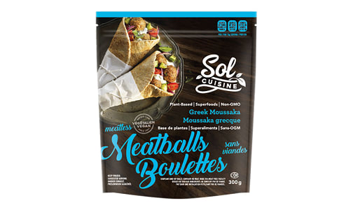 Greek Moussaka Meatballs (Frozen)- Code#: DN0076