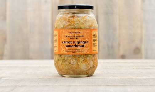 Organic Carrot Ginger & Cabbage- Code#: DN0140