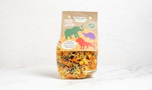 Organic Animal Pasta Shapes- Code#: DN0177