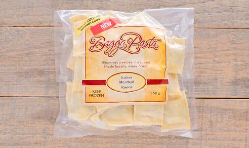 Italian Meatball Ravioli in Egg Pasta (Frozen)- Code#: DN0182