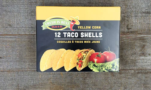 Yellow Corn Taco Shells- Code#: DN0234