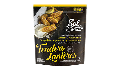 Ancient Grains Chik'n Tenders (Frozen)- Code#: DN0249