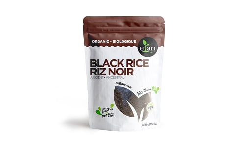 Organic Ancient Black Rice- Code#: DN0290