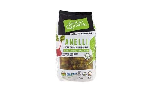 Organic Quinoa Anelli Pasta- Code#: DN0335