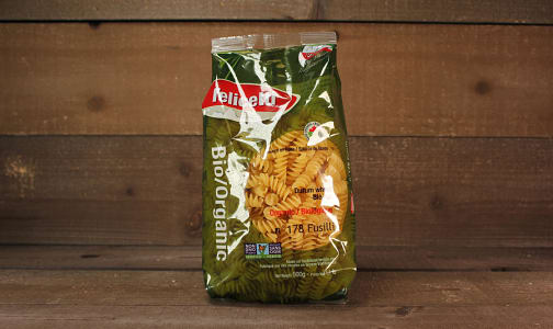 Organic Durum Wheat Fusilli- Code#: DN0349