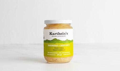 Organic Unpasteurized Sauerkraut - Traditional- Code#: DN0487