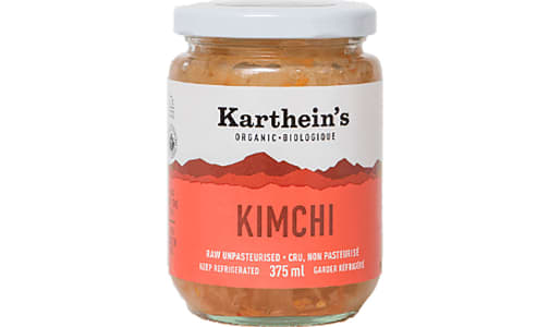 Organic Unpasteurized Sauerkraut - Kimchi- Code#: DN0494