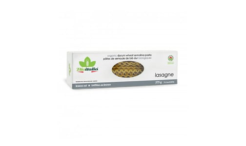 Organic Lasagna- Code#: DN0508