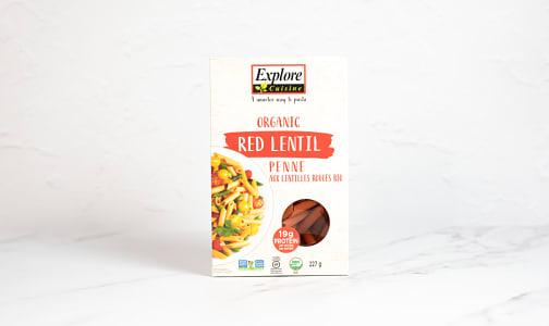 Organic Red Lentil Penne- Code#: DN0566