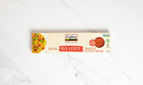 Organic Red Lentil Spaghetti- Code#: DN0568