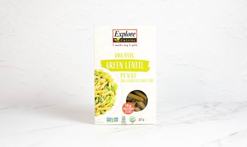 Organic Green Lentil Penne- Code#: DN0569